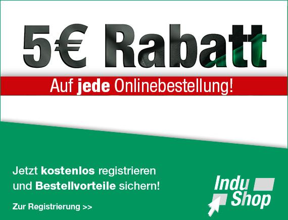 Indunorm Hydraulik Shop 5 Euro Rabatt