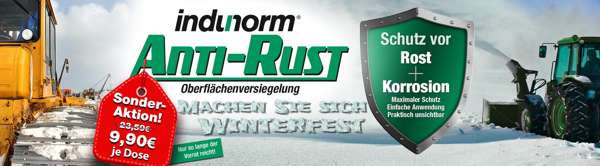 Indunorm Anti-Rust Aktion