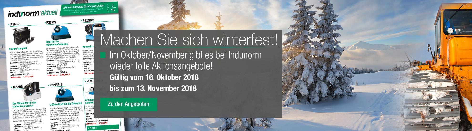 Indunorm aktuell 3/2018