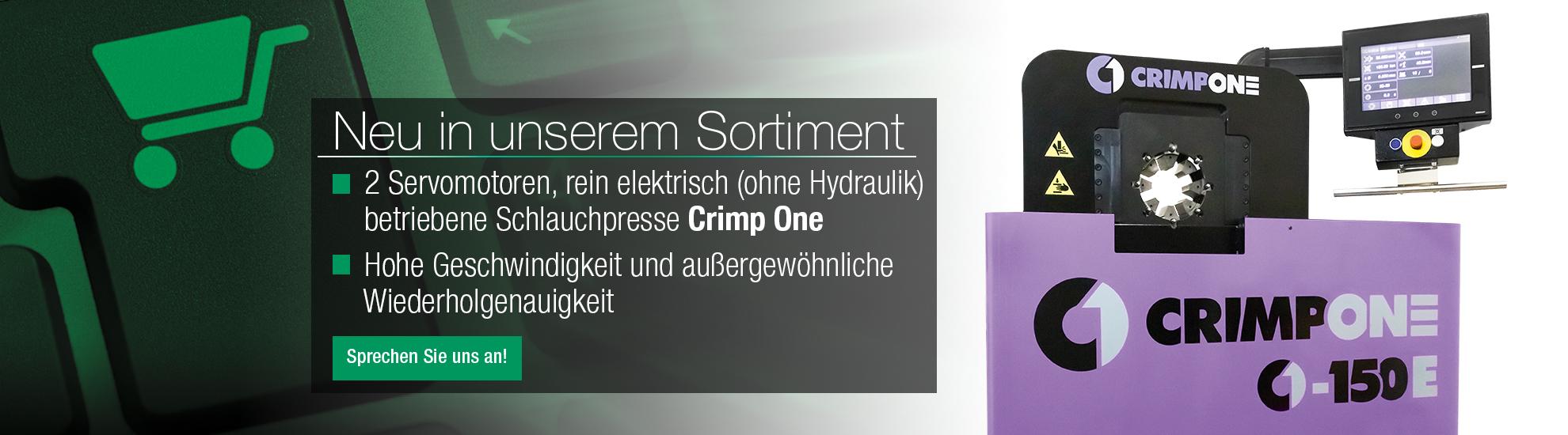 Elektrische Hydraulikpresse Crimp One